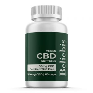 30mg CBD Softgels - 1800mg / 60 Capsules