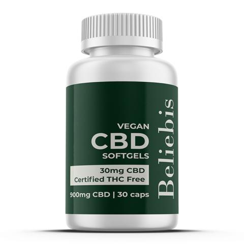 CBD Capsules | 900mg CBD | 30 Softgels