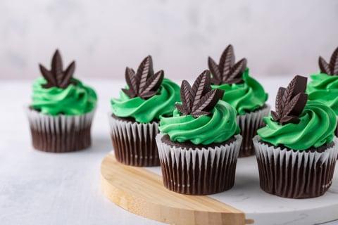 Chocolate CBD Cupcakes