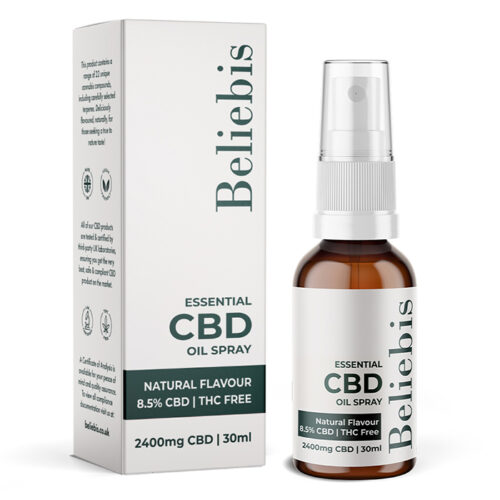 CBD oil spray | Natural Flavour