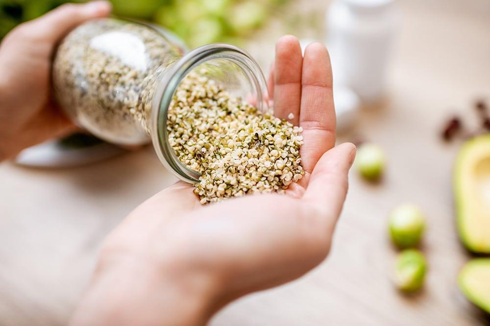 Hemp seeds for healthy heart