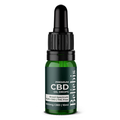 Premium CBD Oil 1000mg Bottle