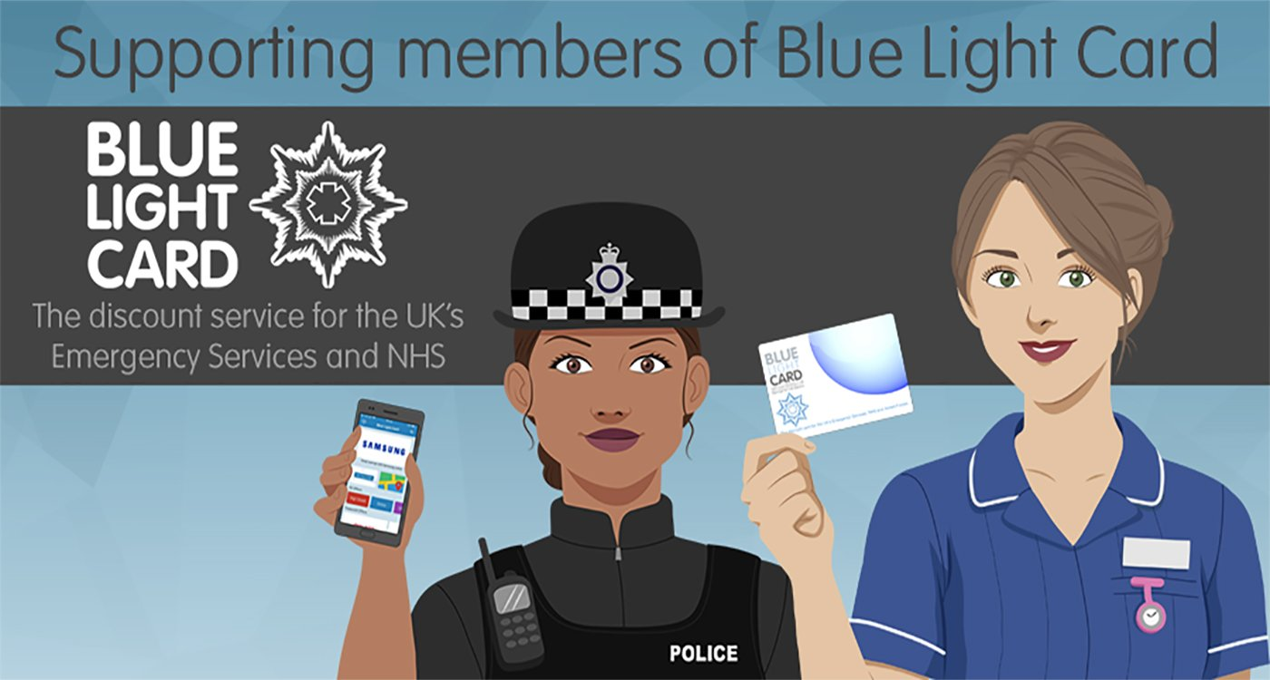 Supporting Bluelight Card