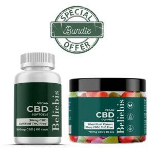 CBD Gummies & CBD oil capsules